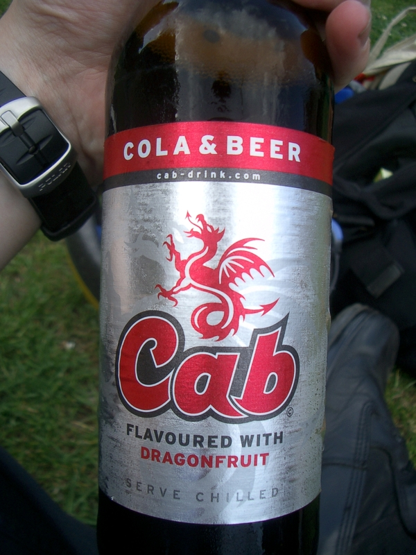 cola and beer