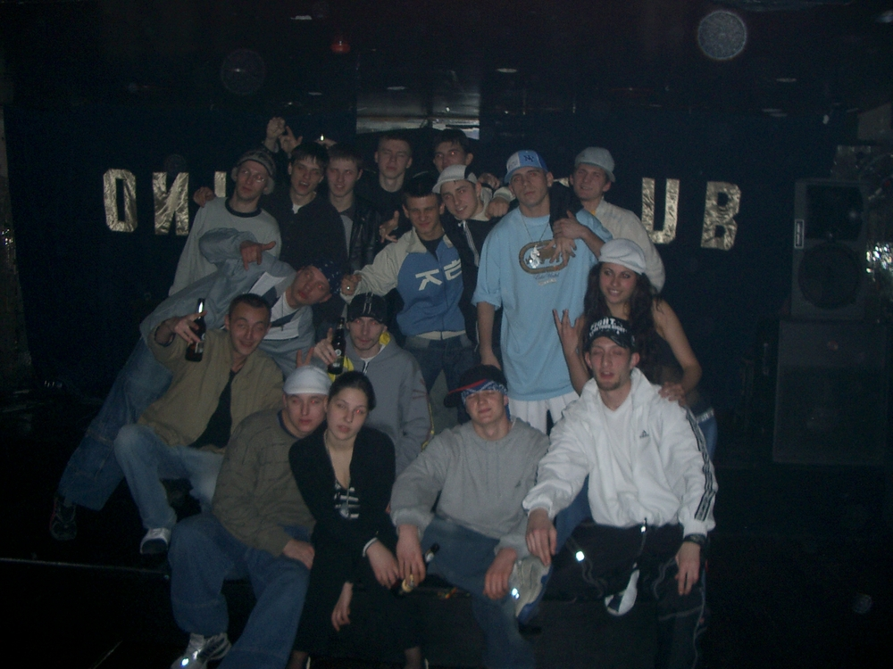 Buenos Aires 2005 - russian argentine hip hop crew