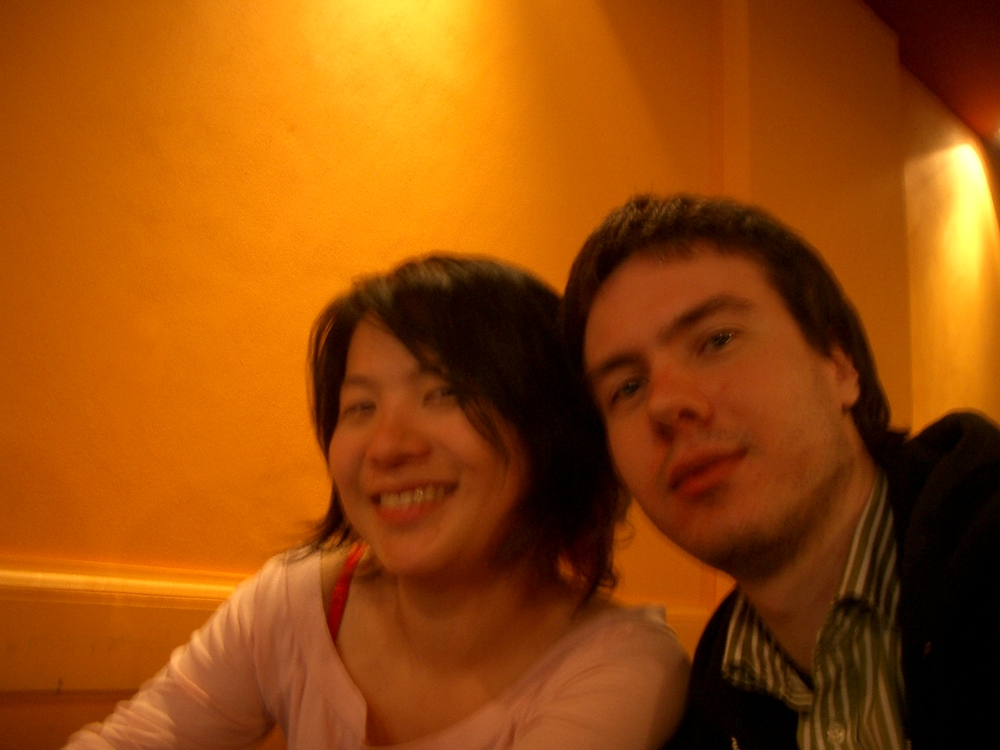 Buenos Aires 2005 - lani, anders, coffee shop