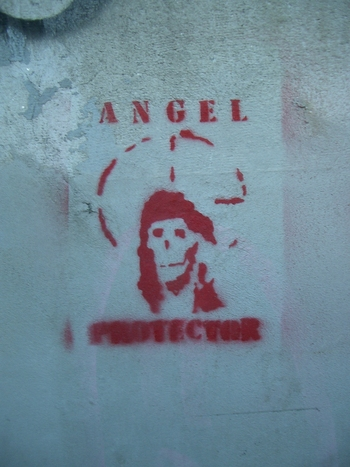 Buenos Aires 2005 - angel protector