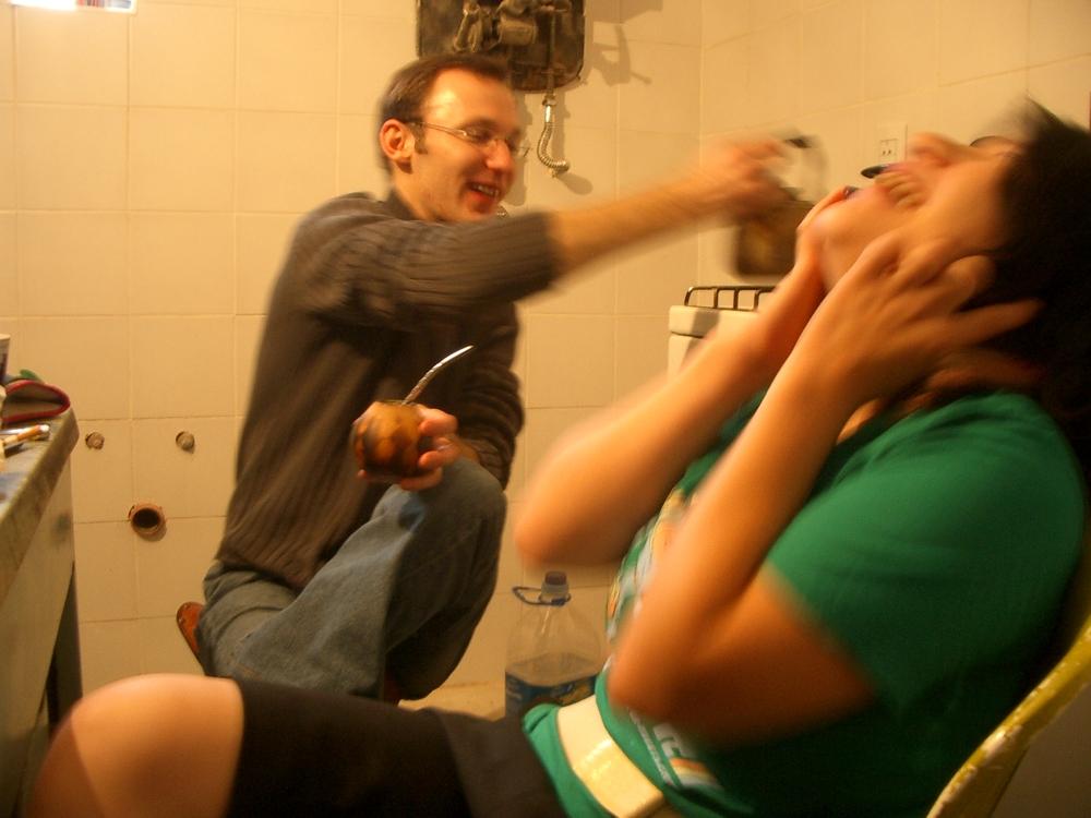 Buenos Aires 2005 - lani laughing