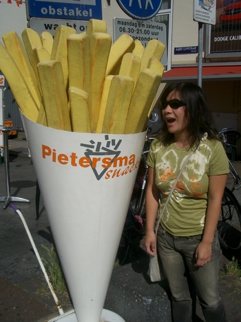 lani and giant frites