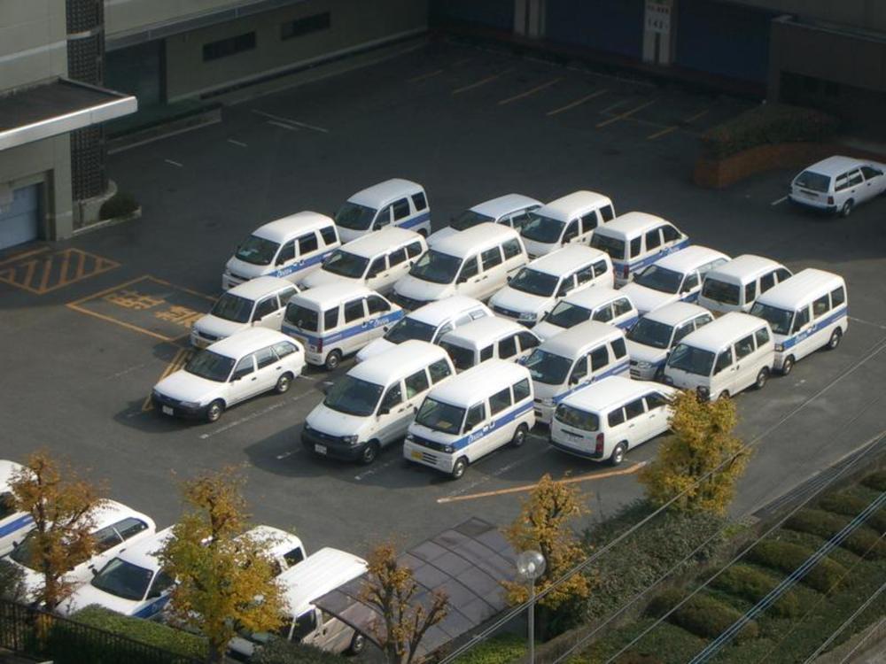 little white cars