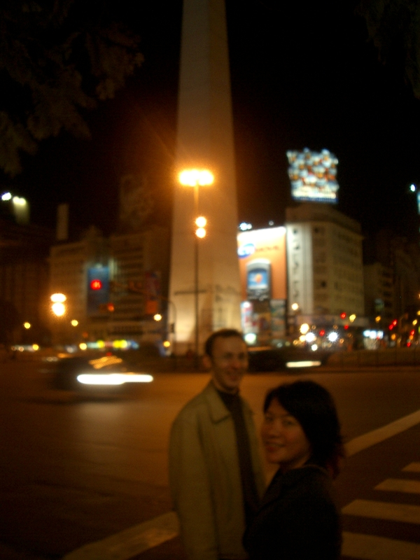 Buenos Aires 2005 - yura, lani, obelisk