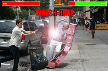 finish him!
