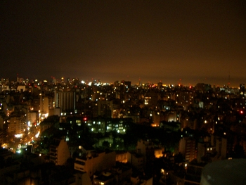 Buenos Aires 2005 - night skyline 12