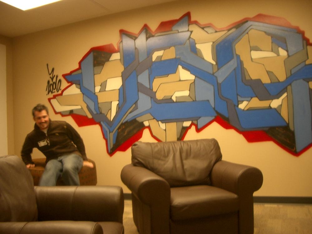 dodge and graffiti
