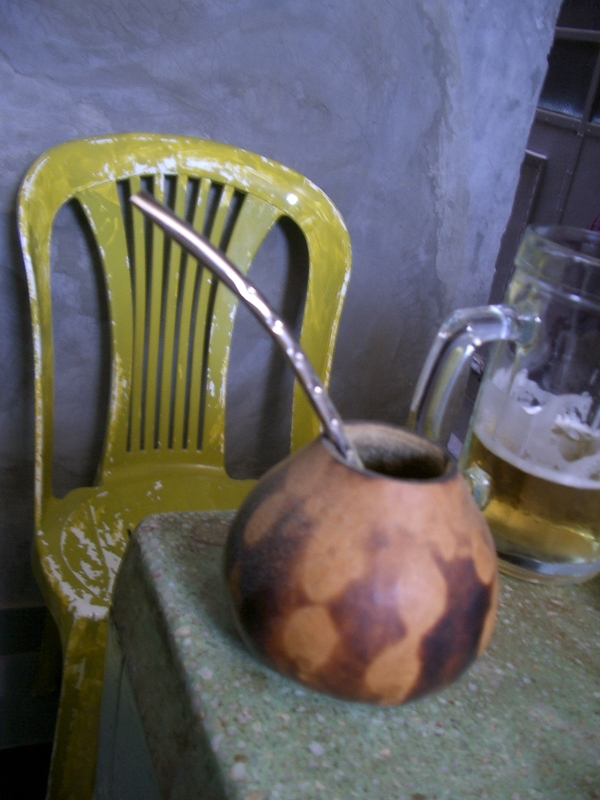 Buenos Aires 2005 - chair and gourd