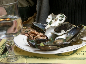 Buenos Aires 2005 - oysters