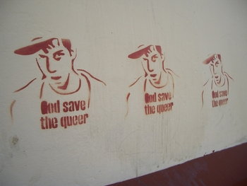 Buenos Aires 2005 - god save the queer