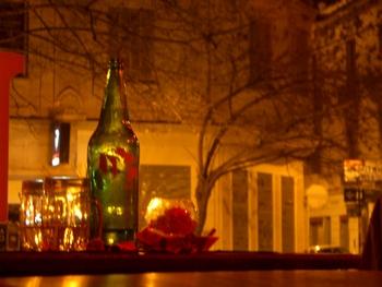 Buenos Aires 2005 - still life in bar