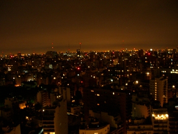 Buenos Aires 2005 - night skyline 10