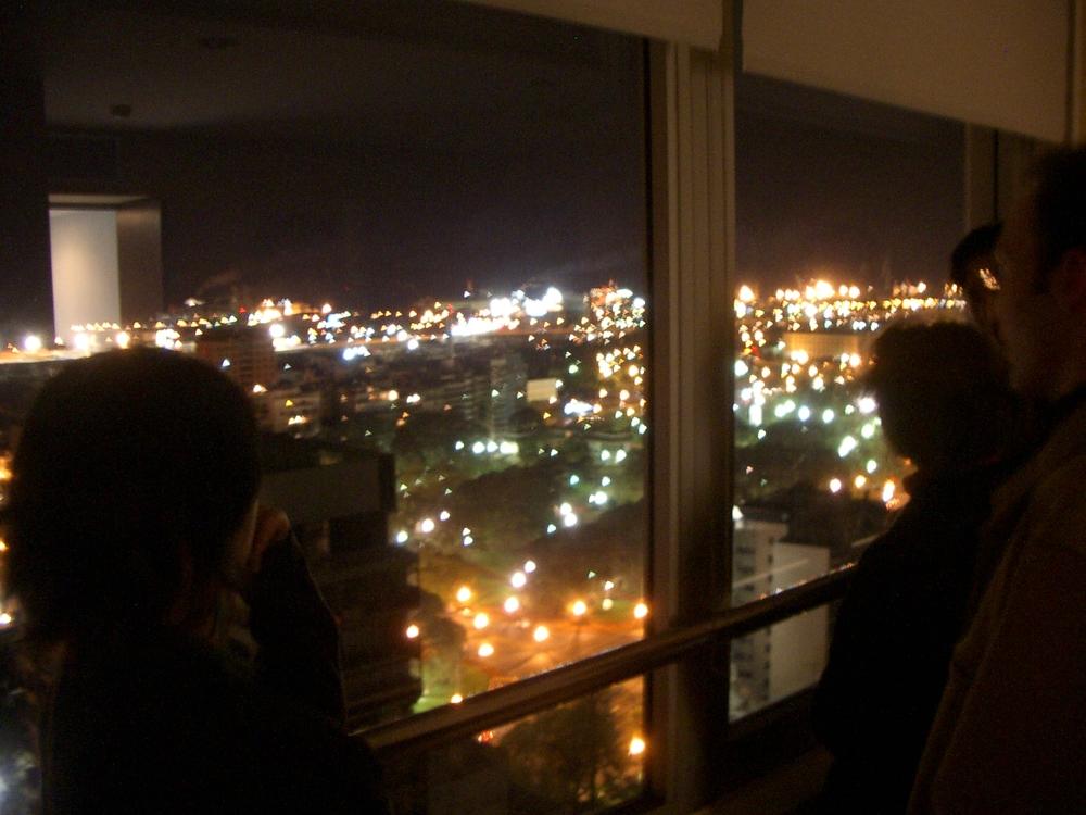 Buenos Aires 2005 - night skyline 1