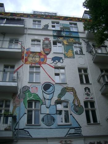 graffiti on mimi's street