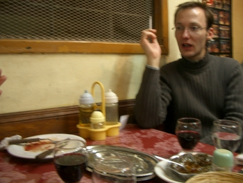 Buenos Aires 2005 - yura, restaurant