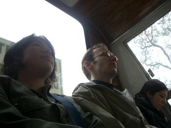 Buenos Aires 2005 - lani, yura, bus