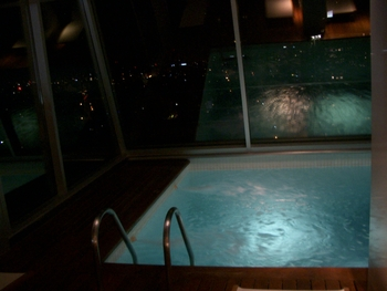 Buenos Aires 2005 - rooftop pool