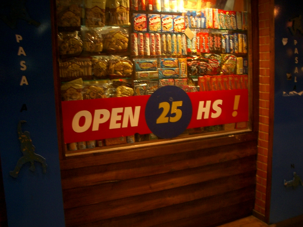 Buenos Aires 2005 - open 25 hs
