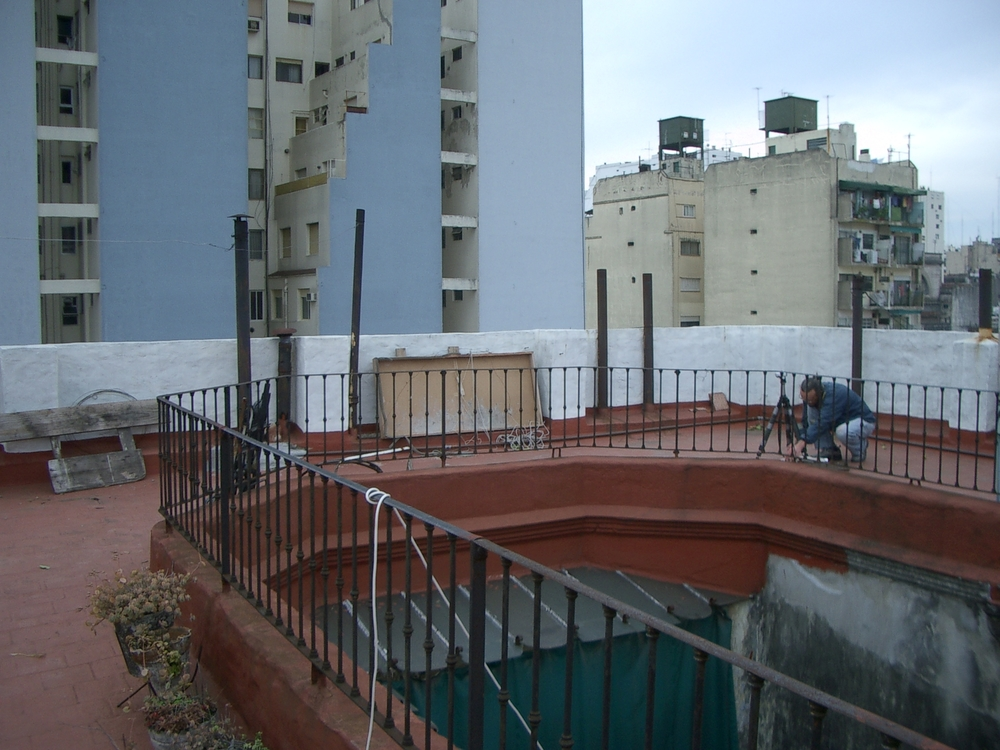 Buenos Aires 2005 - alexander rooftop