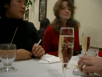 Buenos Aires 2005 - lani, sveta, champagne