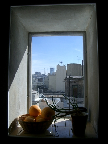 Buenos Aires 2005 - kitchen window