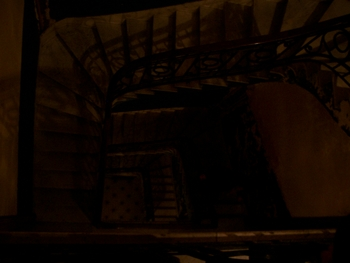 Buenos Aires 2005 - dark stairs