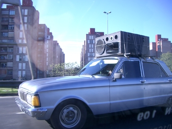Buenos Aires 2005 - car stereo