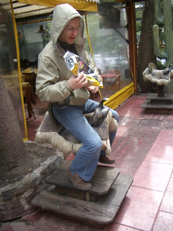 Buenos Aires 2005 - Yura on Saddle