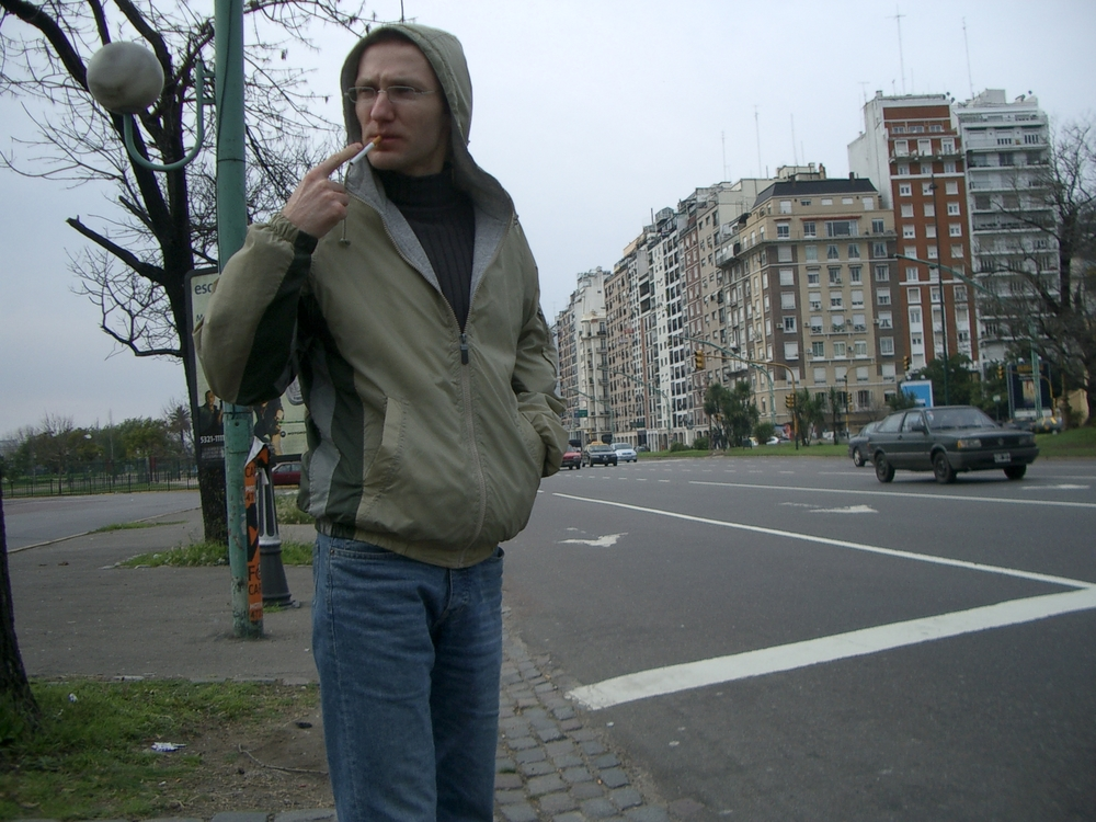 Buenos Aires 2005 - yura on street