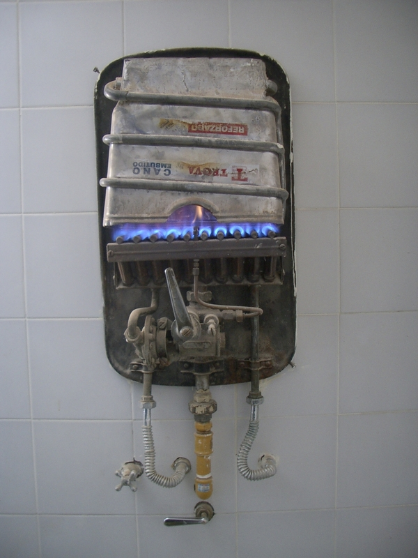 Buenos Aires 2005 - water heater