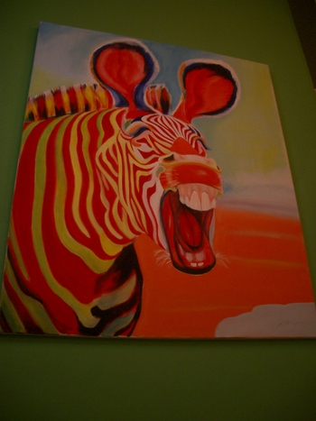 Buenos Aires 2005 - zebra