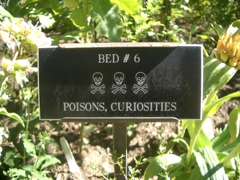 poisons, curiosities