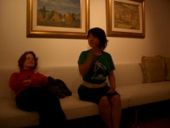 Buenos Aires 2005 - lani, sveta, eduardo's apt