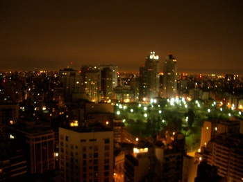 Buenos Aires 2005 - night skyline 8